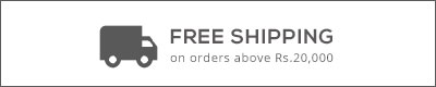 Free shipping on orders above Rs.20000